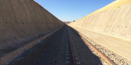 Algeria Linea ferroviaria Saida-Moulay-Slissen (Algeria)