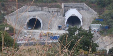 SS 106 Jonica section, Baldaia Tunnel (Catanzaro)