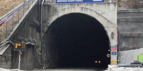 Tunnel Mules Chantier Campo di Trens (Bolzano).