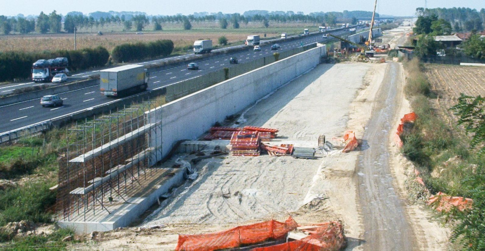 Linea Ferroviaria Alta Velocità MI-BO Lotto Casalpusterlengo (Lodi).