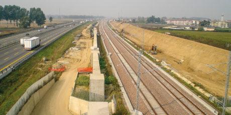 Ligne Ferroviaire à Grande vitesse MILAN-BOLOGNE Lot de Lodi (Lodi).