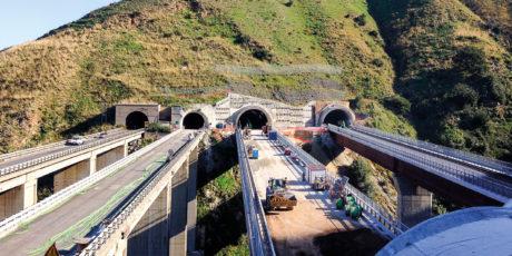 Salerno – Reggio Calabria motorway, Paci tunnel (Reggio Calabria)