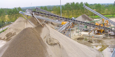 High speed railway line TO-MI Romentino lot  Crushing (Novara)