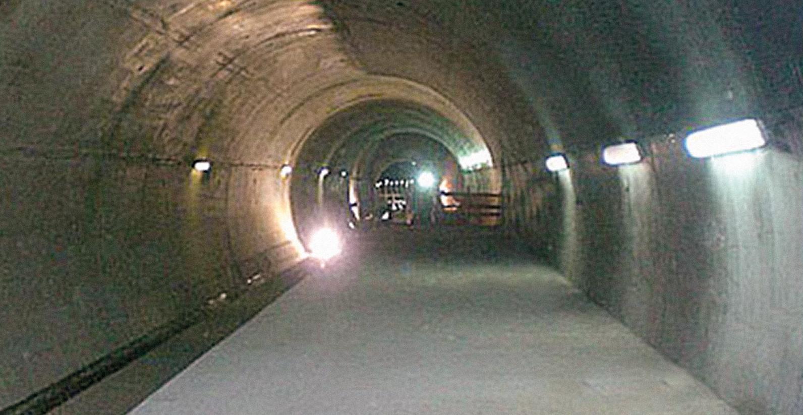 Metropolitana Roma Linea C Stazione Alessandrino (Roma).