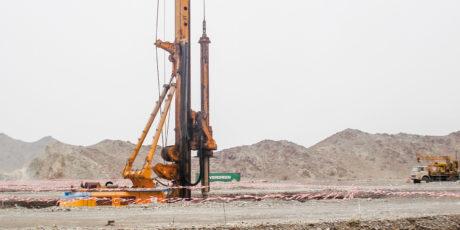 Raddoppio strada Bidbid Surl (Oman)